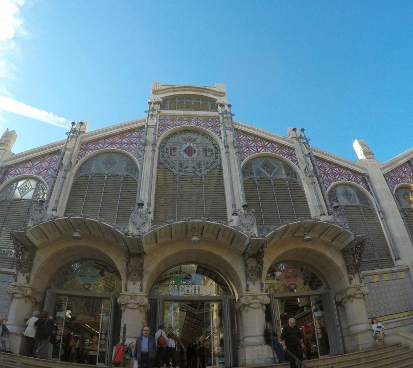 fachada mercado central de valencia