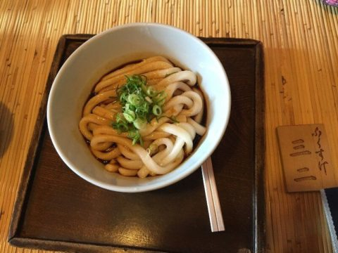 fideos udon japoneses fritos