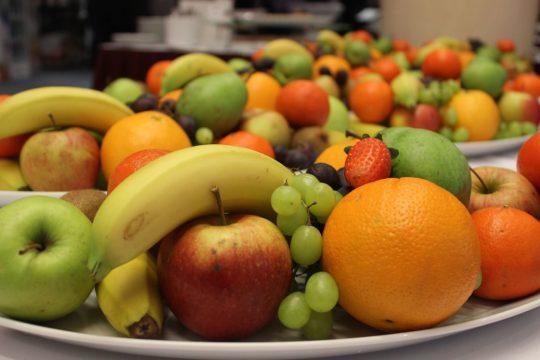 fruta en empresas saludables