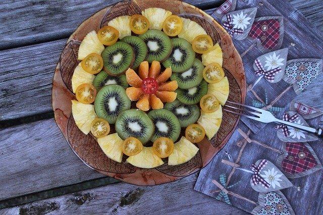Ensalada de kiwi y otros cítricos