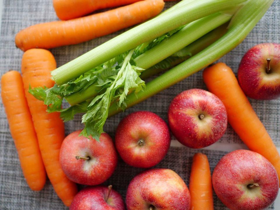 como preparar jugo de zanahoria para la vista