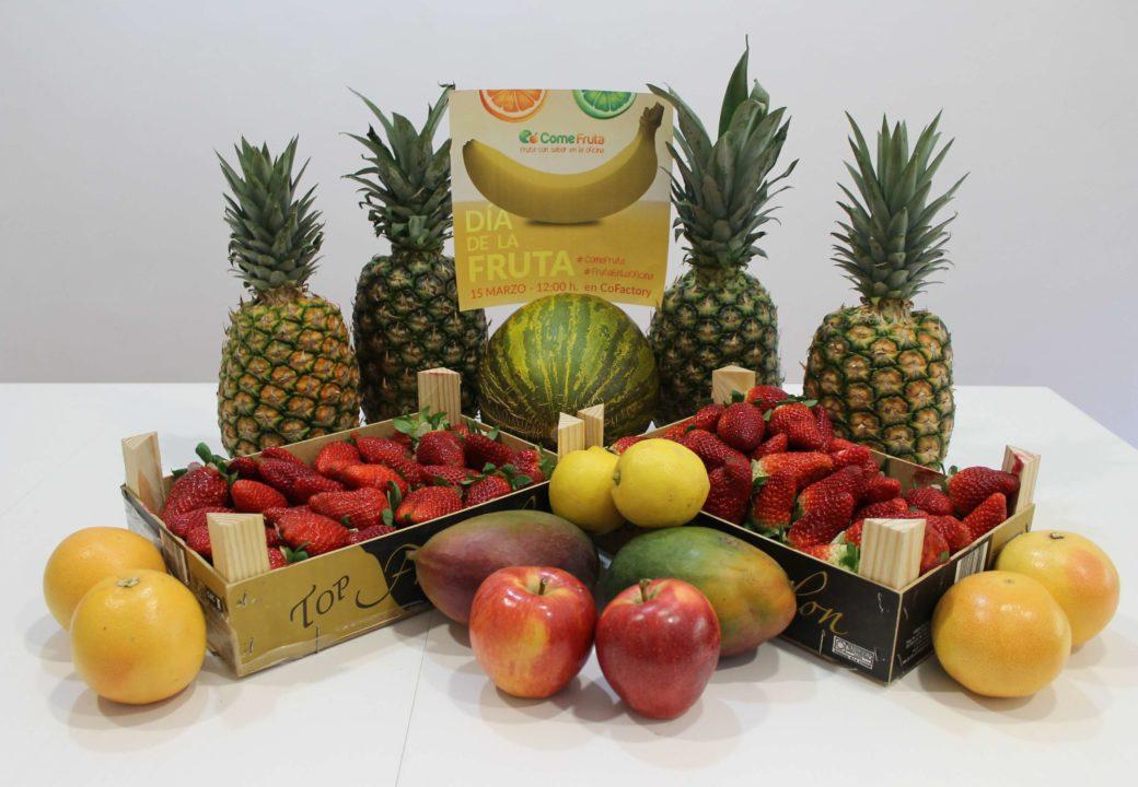 dia de la fruta en coworking