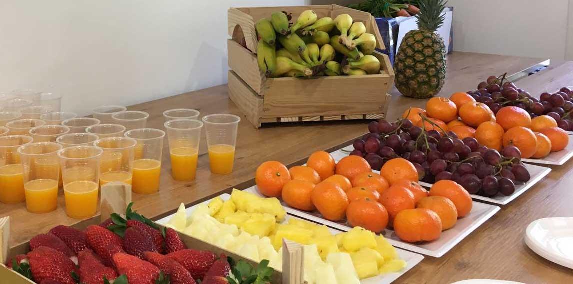 fruta para personal de atencion a cliente