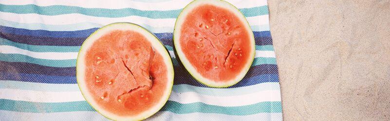 frutas de temporada en verano