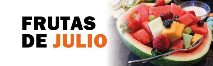 frutas de temporada de julio