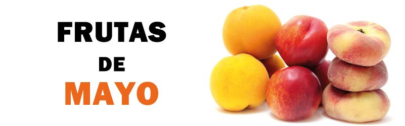 frutas de temporada de mayo