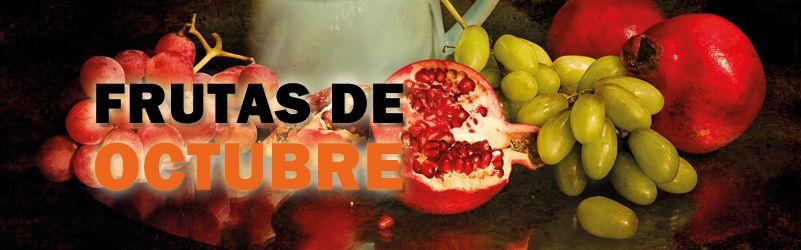 frutas de temporada de octubre