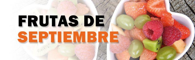 frutas de temporada de septiembre