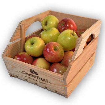 Caja de fruta de madera