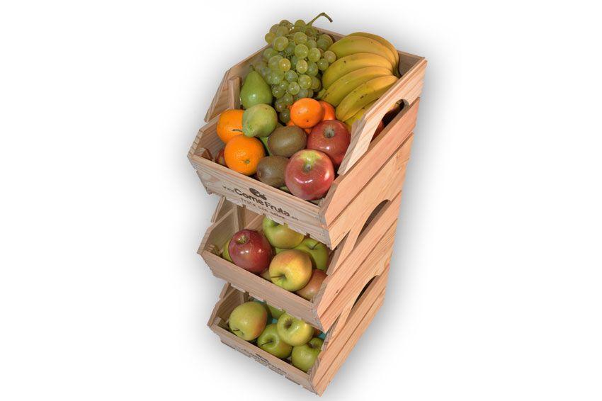 Fruteros para oficina de madera