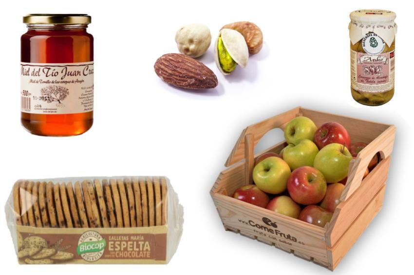 Frutos secos, Conservas, Legumbres y Otros
