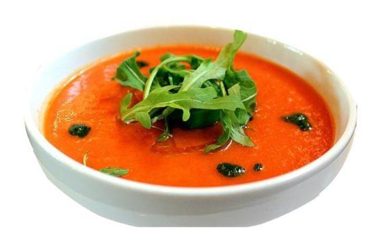 gazpacho fresco saludable