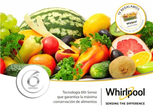 marketing online frutas. Promoción whirlpool y comefruta fruta y verdura de temporada Whirlpool