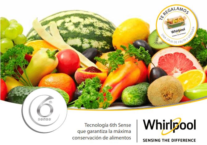 promoción whirlpool y comefruta fruta y verdura de temporada Whirlpool