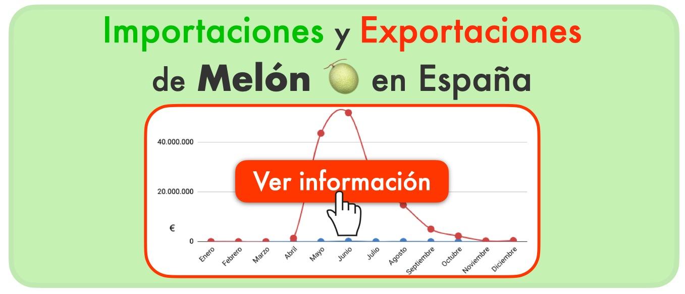 exportación importación melón