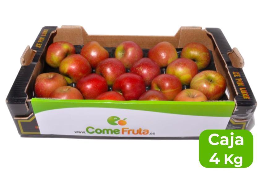 manzana fuji caja