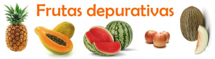 frutas depurativas. frutas con más y menos calorías