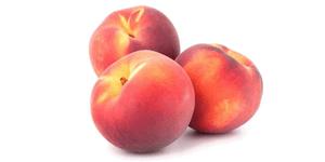 frutas de hueso melocotones