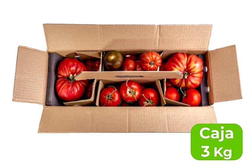 mix degustación tomates
