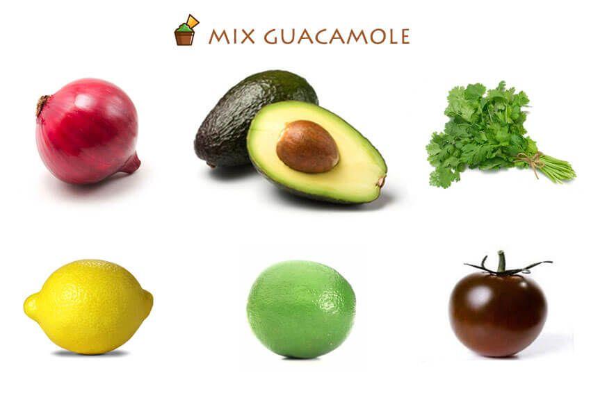 mix guacamole