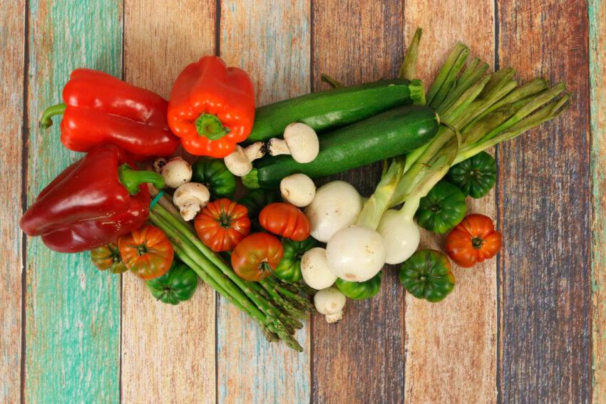 mix verduras plancha