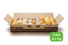 patata cebolla ajo caja 4,1 kg