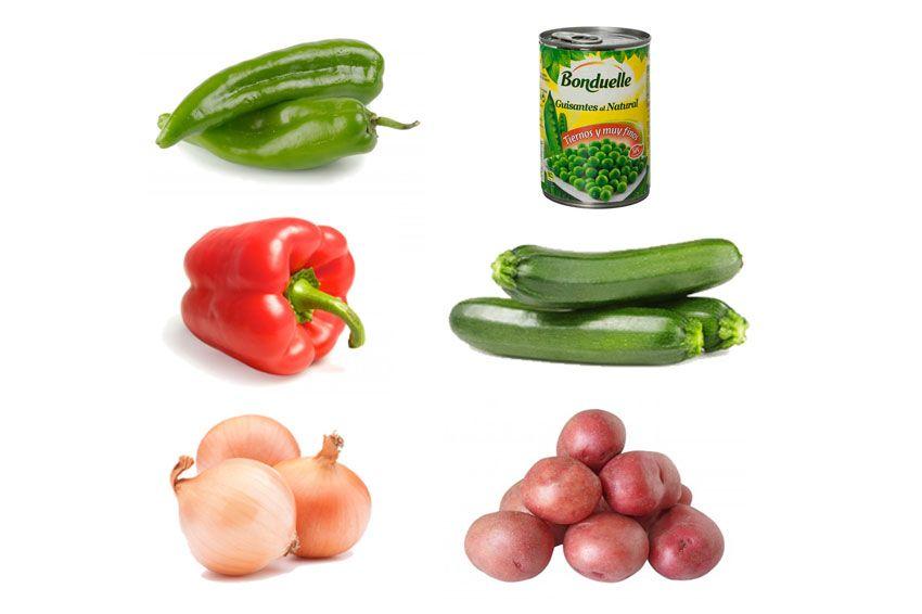 Mix Especial Tortillas: las mejores verduras para hacer tortilla