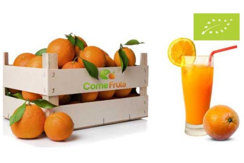 naranjas zumo ecológicas