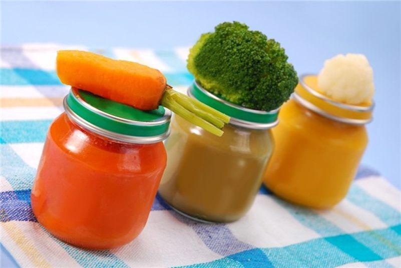 Conservar papilla de frutas