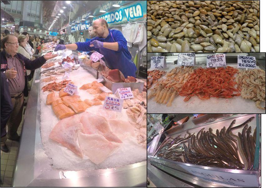 Pescado y Marisco - Mercado Central de Valencia
