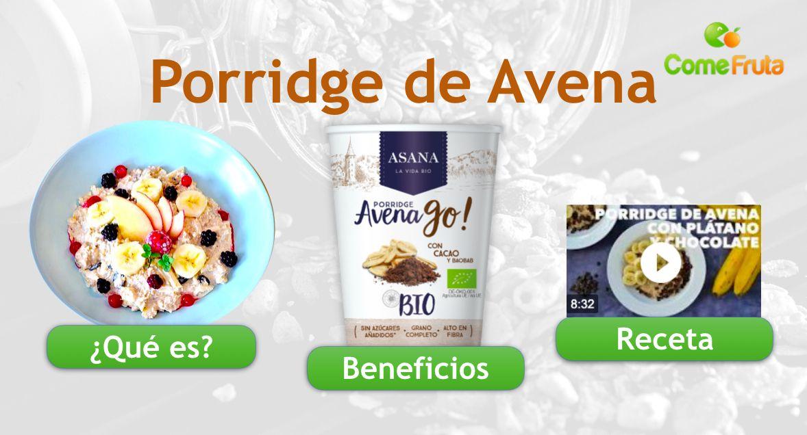 beneficios y qué es porridge avena