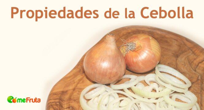 cebolla propiedades saludables