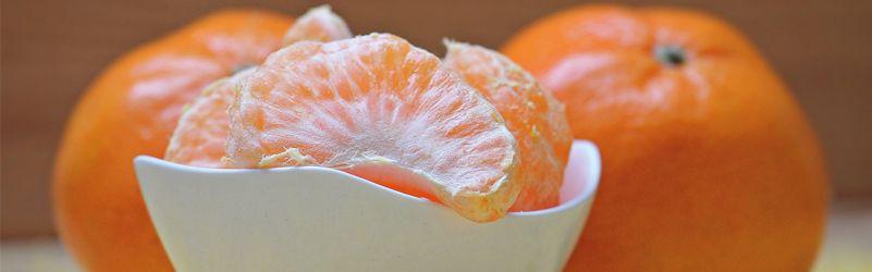 las propiedades de la mandarina clementina