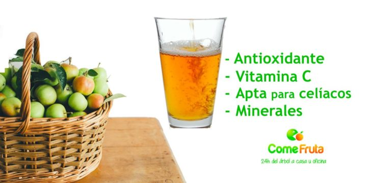 beneficios de la sidra