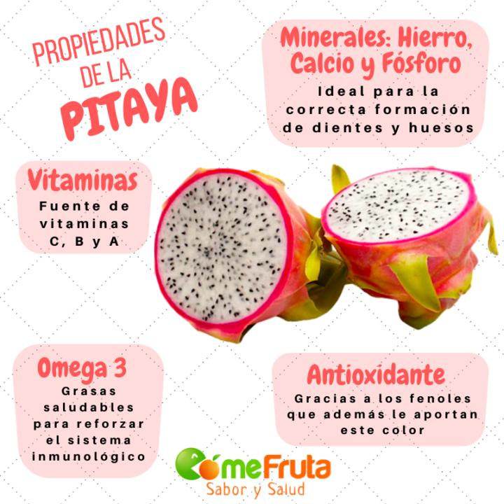 beneficios y propiedades de la pitaya