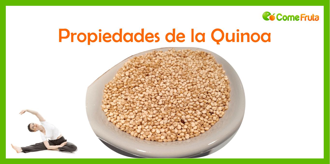 comefruta. propiedades quinoa