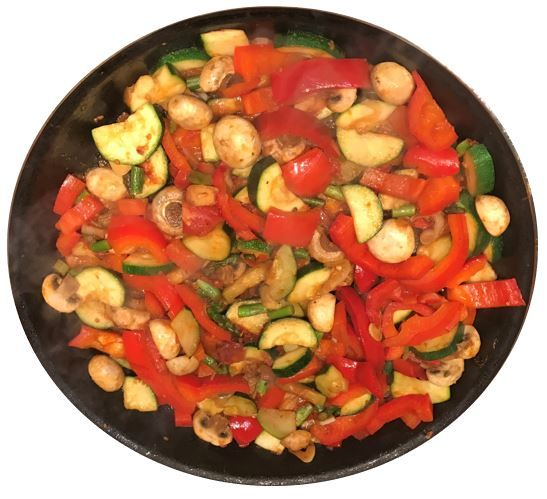 receta arroz de verduras