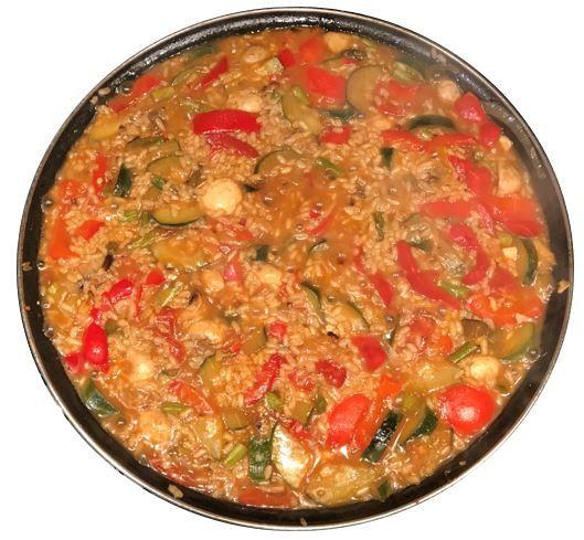 receta comefruta arroz con verduras 2