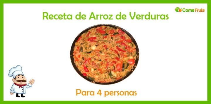 receta de arroz de verduras