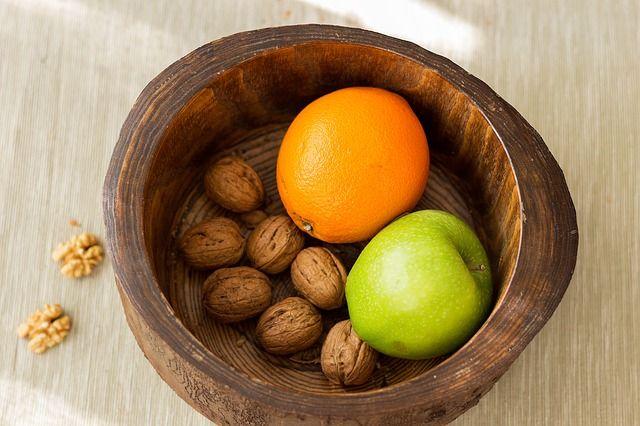 Receta de Ensalada de frutas y nueces