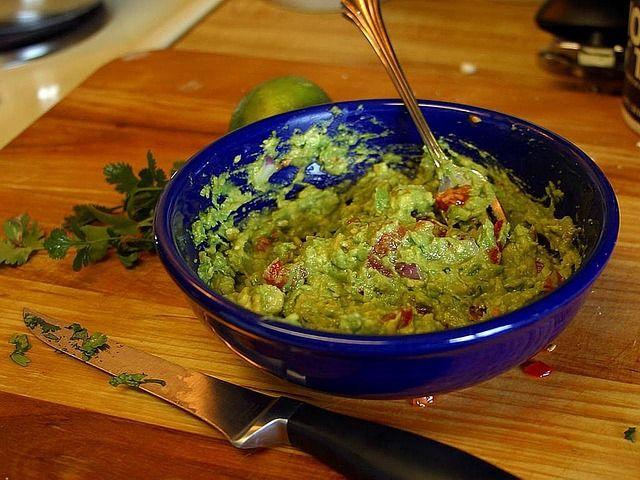 receta guacamole
