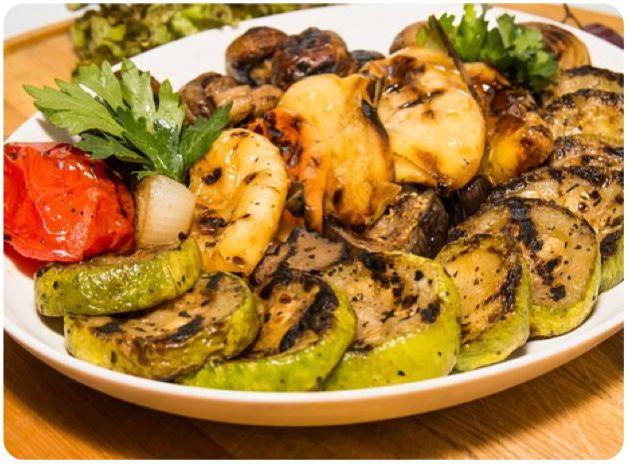 receta parrillada de verduras comefruta