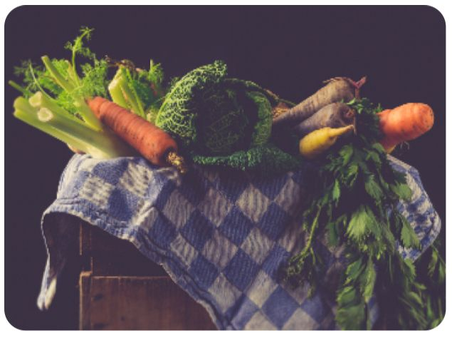 parrillada de verduras comefruta