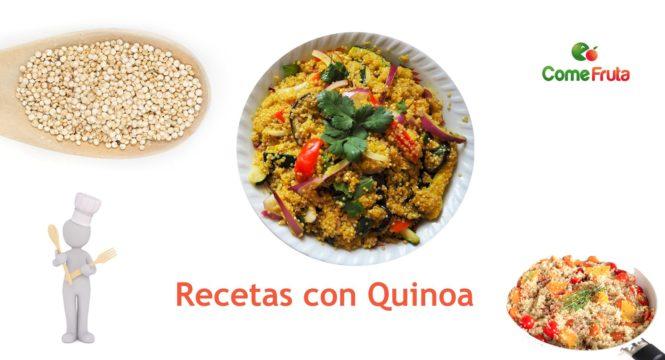 recetas con quinoa comefruta