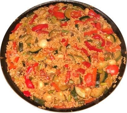 receta saludable comefruta arroz de verdruas