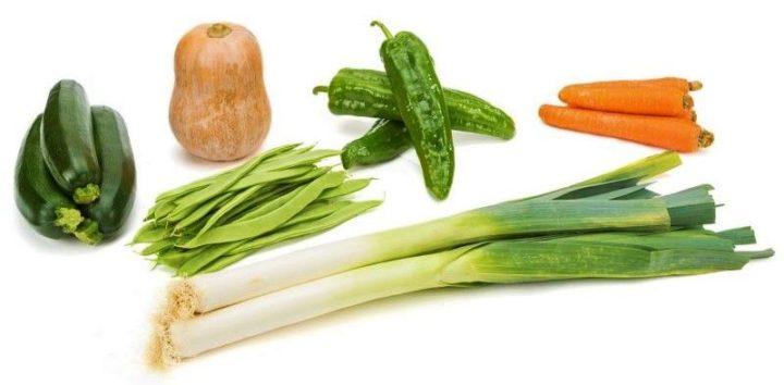 recetas sencillas de verduras