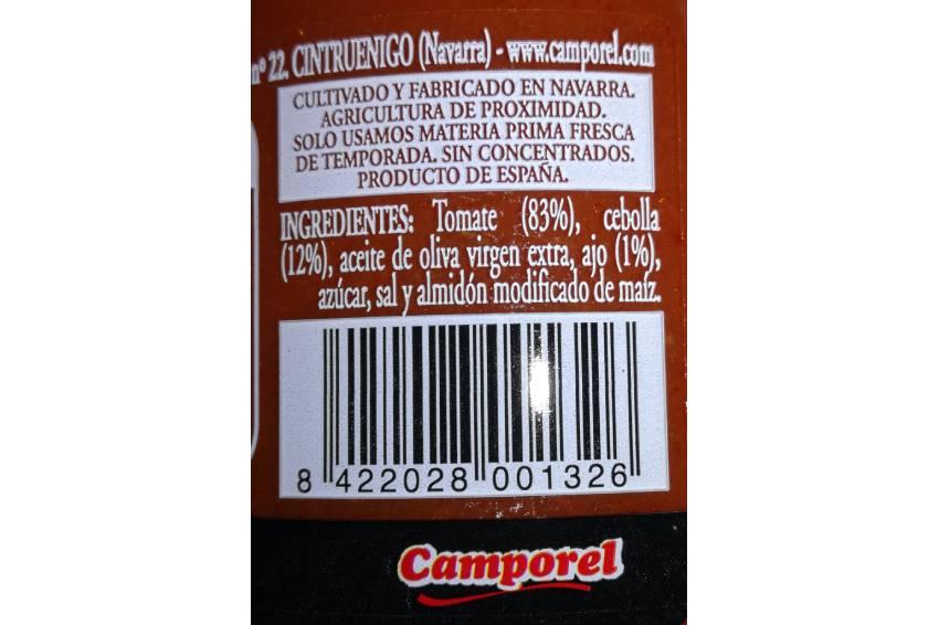 salsa tomate ingredientes
