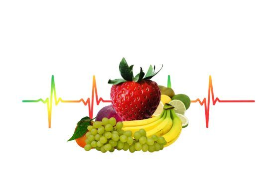salud fruta