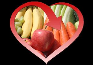 comprar frutas y verduras saludables