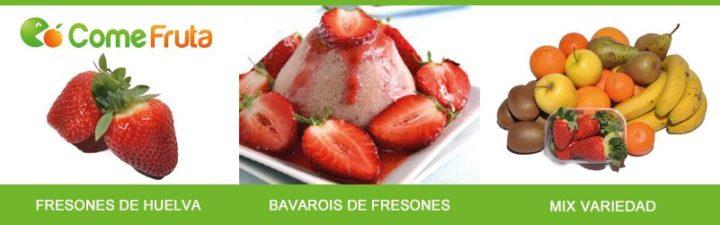 temporada de fresas y fresones